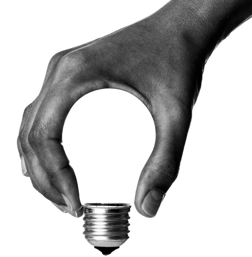 Une ampoule pas comme les autres pour une agence de communication pas comme les autres, Média Storming a Sélestat a des idées lumineuses