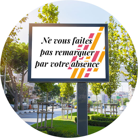 Réseau d'affichage, mobilier urbain en Alsace